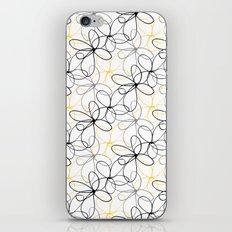 Sketchy Flowers iPhone & iPod Skin