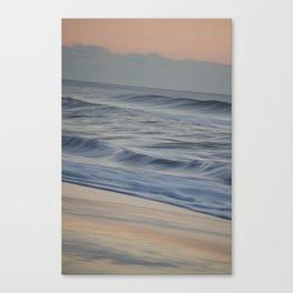 Waves Beach Haven Canvas Print