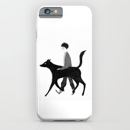 Harry and Sirius iPhone Case