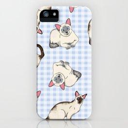 Siamese Cats iPhone Case