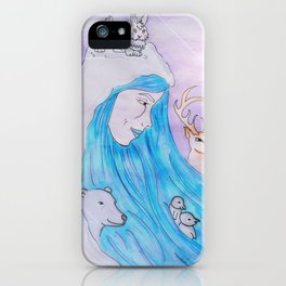 Winter soul iPhone Case