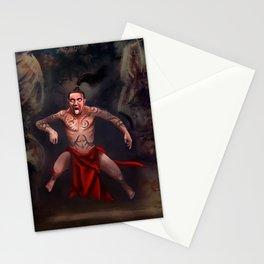 Haka Warrior Stationery Cards