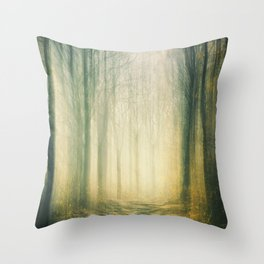 Forest of Surrealism III Throw Pillow