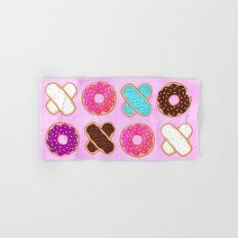 XOXO Donuts Hand & Bath Towel