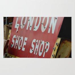 London Shoe Shop Rug