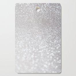 Silver ice - glitter effect- Luxury design Cutting Board