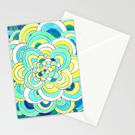 Mexican Blue Stationery Cards