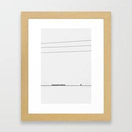 Strength in Solitude Framed Art Print