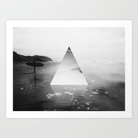 surfer Art Prints featuring Surfer by fly fly away