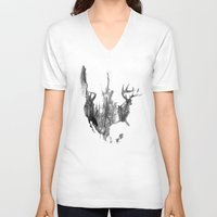 true detective V-neck T-shirts featuring True Detective USA by Roadtrippers