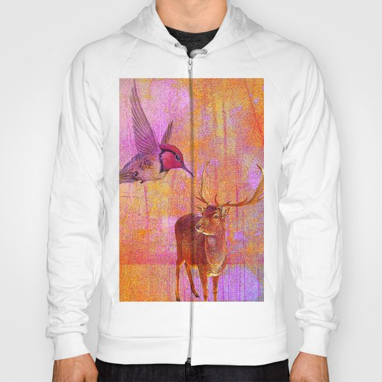 The loves platonic of the hummingbird and the deer Hoody