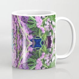 302 - Abstract Lilac Design Coffee Mug
