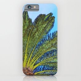 Palm Tree Fronds iPhone Case