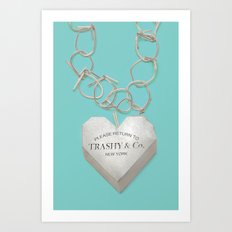 Trashy & Co. Art Print