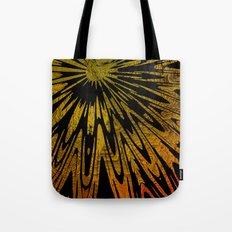Native Tapestry in Gold Tote Bag