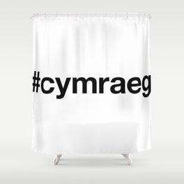 CYMRAEG Shower Curtain
