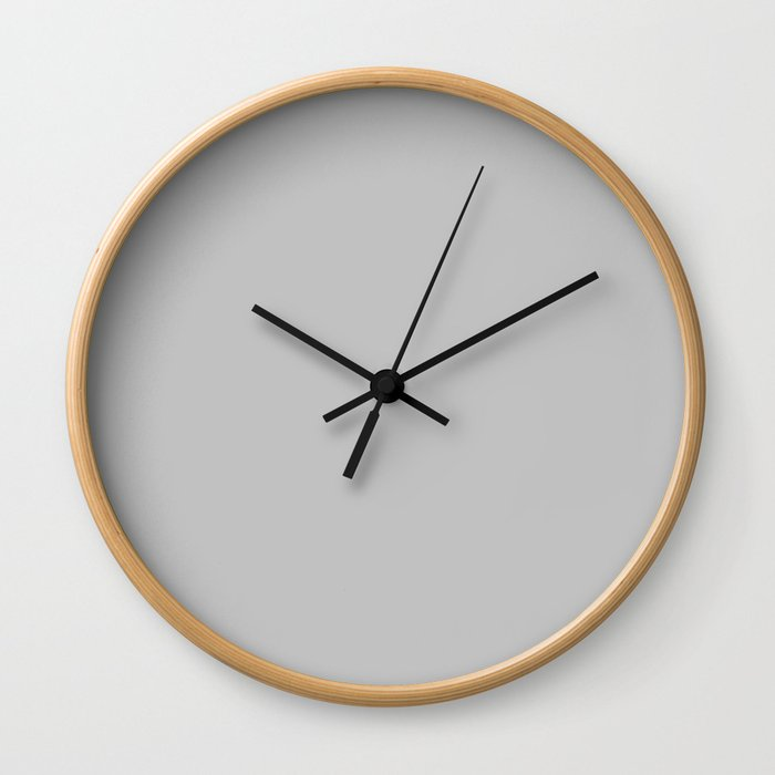 Dangle ~ Gray Wall Clock