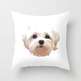 Cute Dog Throw Pillow