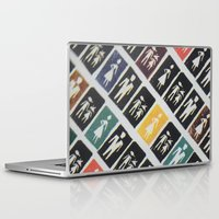 mad men Laptop & iPad Skins featuring Mad men by WeLoveHumans