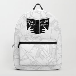 Book Lover, Do Not Disturb II Backpack