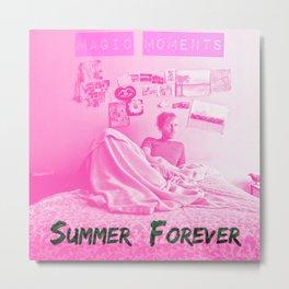 Magic Moments - Summer Forever Metal Print