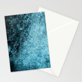 Frost Blue Ice Stationery Cards