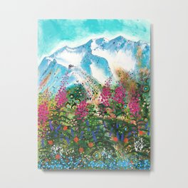 Alyeska Best of Both Metal Print