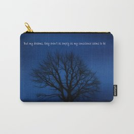 Behind Blue Eyes   Inspired Lyric Art Print Carry-All Pouch