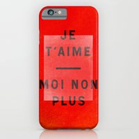 Je t'aime...moi non plus Slim Case iPhone 6s