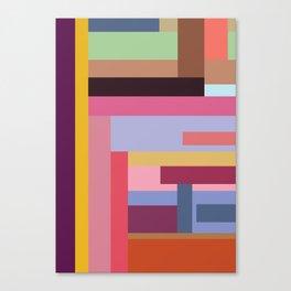 Color rods Canvas Print