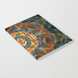 The Sri Yantra - Sacred Geometry Notebook