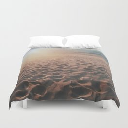 Desert Footprints Duvet Cover