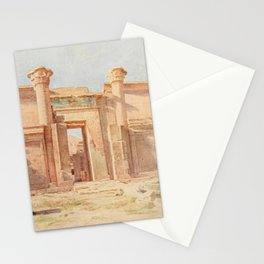 Tyndale, Walter (1855-1943) - Below the Cataracts 1907, The Ptolemaic Pylon, Medinet Habu Stationery Cards