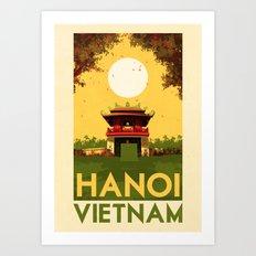 Vietnam - Hanoi Art Print