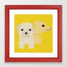 Dog_06 Framed Art Print