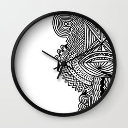 SPCSHP Pineal Wall Clock