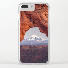 Taking a Peak Clear iPhone Case