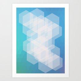 Shape series 5 Art Print