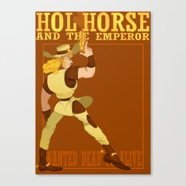 The Whole Horse Canvas Print