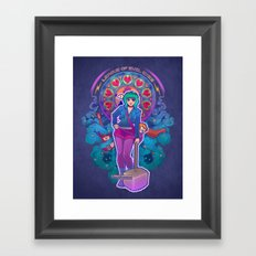 League of Evil Exes Framed Art Print