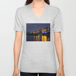 Kangaroo Point Cliffs Unisex V-Neck