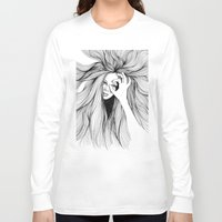 leo Long Sleeve T-shirts featuring Leo by Hanna Viktorsson