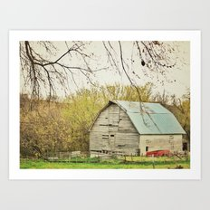 Ma and Pa Kettle Art Print