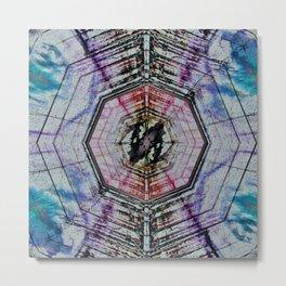 Dirty Kaleidoscope Metal Print