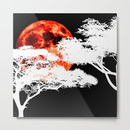 African Night Metal Print
