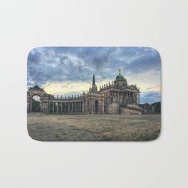 Neues Palais at dusk Bath Mat