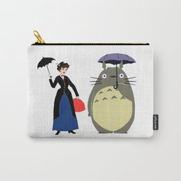 Mary Poppin and umbrela Carry-All Pouch