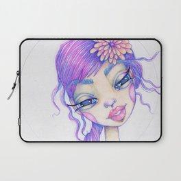 JennyMannoArt Colored Pencil Illustration/Sarah Laptop Sleeve
