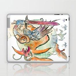 3872 cliff racers Laptop & iPad Skin