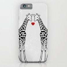 Giraffe Love Slim Case iPhone 6s
